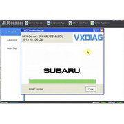 V2015.10 SUBARU SSM-III Software Update Package For VXDIAG Multi Diagnostic Tool