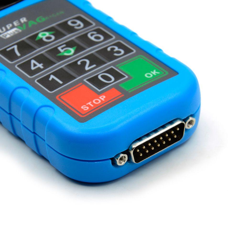 Latest Super VAG K+CAN Plus 2.0 Diagnosis + Mileage Correction + Pin Code Reader Super VAG K+CAN Plus
