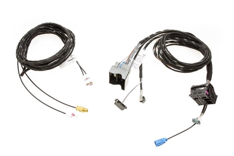 Провода обновления MMI basic до MMI 3G High Audi A4, A5