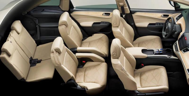 Салон минивена Honda Odyssey