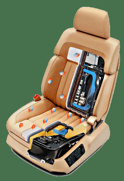 Сиденье современного автомобиля