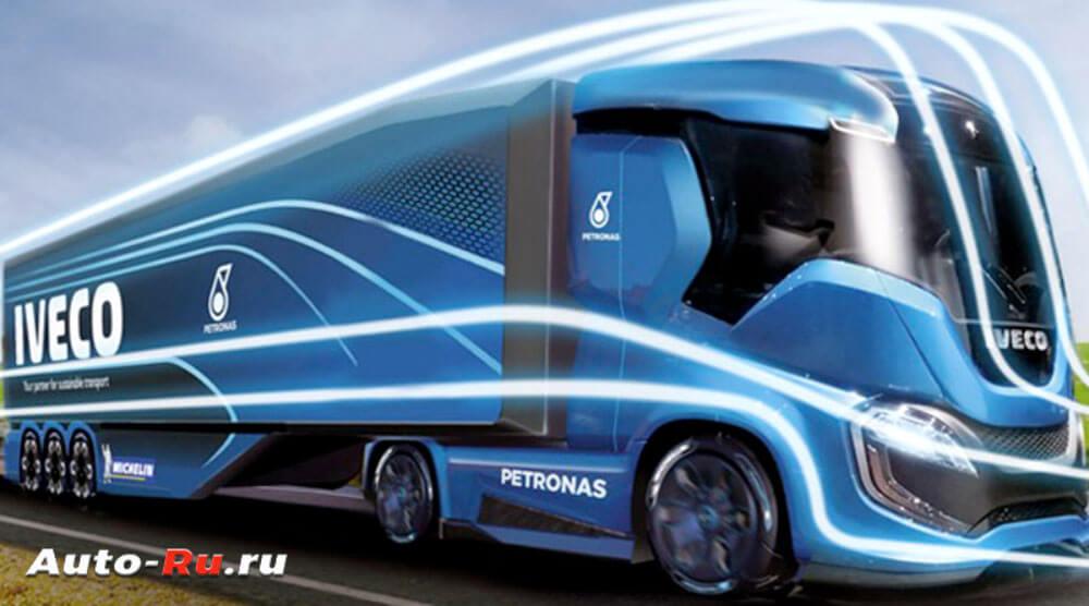 Автомобиль будущего уже реальность. Iveco Z Truck