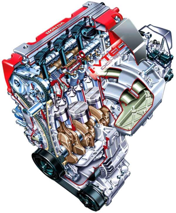 Дизельный мотор Honda 2.2 i-CDTi