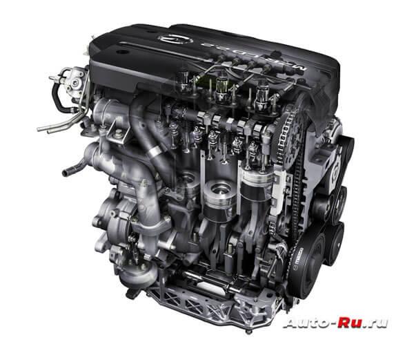 Двигатель Mazda 2.2 MZR AD