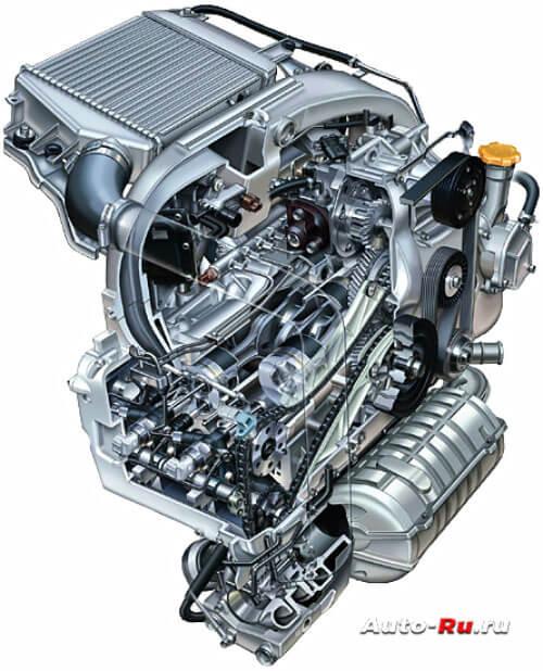 Двигатель Subaru-EE20