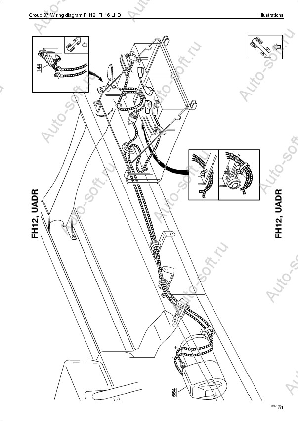 Volvo Fm Truck Wiring Diagram Service September 2010
