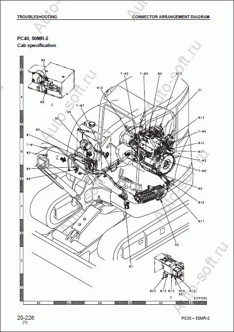 Komatsu (Комацу) Hydraulic Excavator PC27MR-2, PC30MR-2