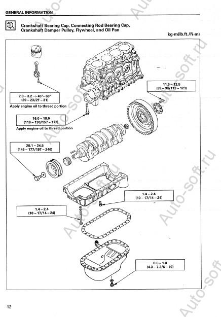 Руководство по ремонту и эксплуатация дизельного двигателя