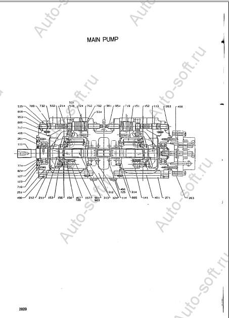 Каталог запчастей и электрические схемы на колесный