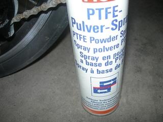 PTFEパウダースプレー
