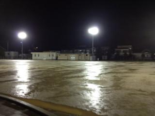 大雨サッカー