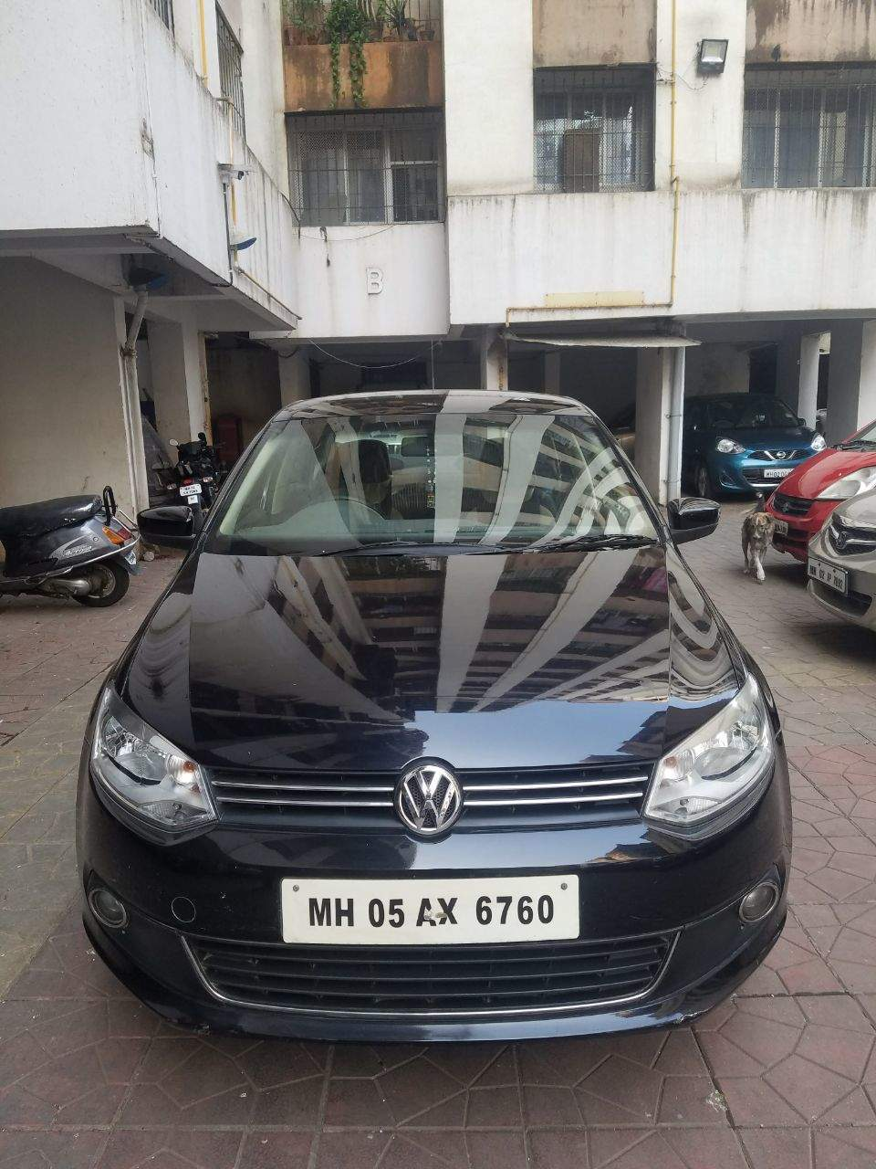 medium resolution of volkswagen vento front left rim