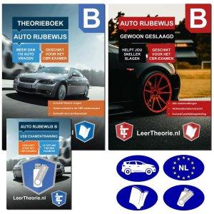 Auto Theorieboek 2021 met USB | Auto Theorie-examen 2021 met Auto Theorieboek Samenvattingen - Examentraining Praktijk en Verkeersborden