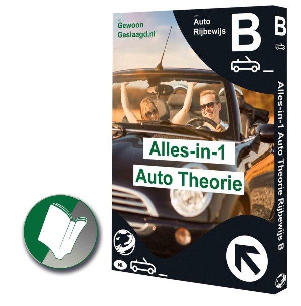 AutoTheorieBoek 2021 Rijbewijs B voor CBR 2021 Nederland - Verkeersborden Gewoon Geslaagd - Auto theorie-box Rijles AutoTheorieLeren