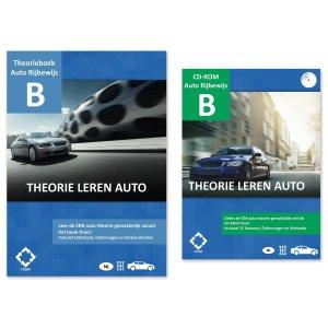AutoTheorieboek 2021 - Theorie leren auto + Auto Theorie Leren en Oefenen CD-rom 2021