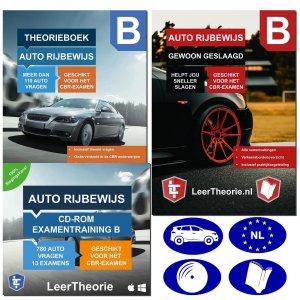 AutoTheorieboek 2021 met CD-Rom voor Auto Theorie-examens 2021 met Auto Theorieboek Samenvattingen - Praktijk en Verkeersborden