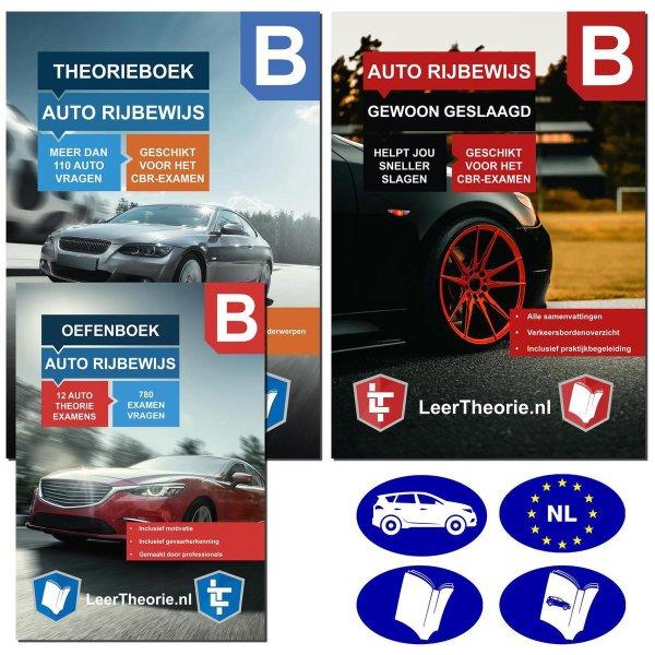 AutoTheorieboek 2021 met Oefenboek | Auto Theorie-examen 2021 | Samenvattingen | Examentraining | Praktijk Begeleiding | Verkeersborden