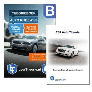 AutoTheorieboek Rijbewijs B 2021 + Auto Theorieboek Samenvatting - Auto Theorie Rijbewijs B 2021