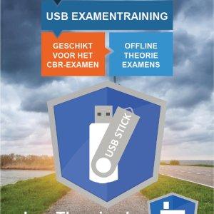 Auto Theorie Oefenexamens 2021 USB stick voor Rijbewijs B - LeerTheorie