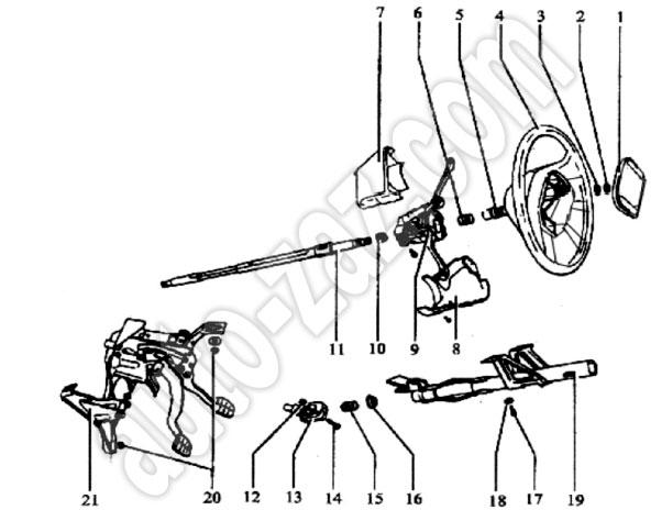Ремонт рулевого управления Chery Karry (Чери Карри)