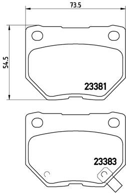 Klocki Hamulcowe BREMBO (P78016)