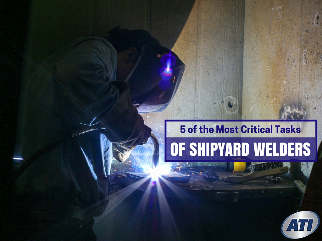 Job Outlook For Welders 5 Of The Most Critical Tasks Of Shipyard Welders