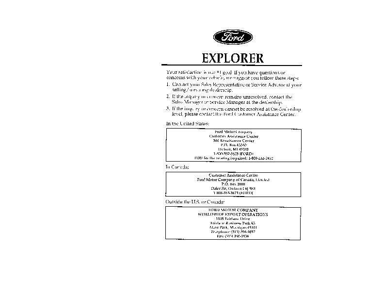 Service manual [Car Repair Manuals Online Free 1996 Ford