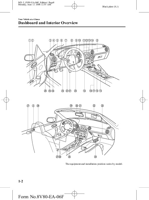 2007 Mazda MX 5 Miata Owners Manual