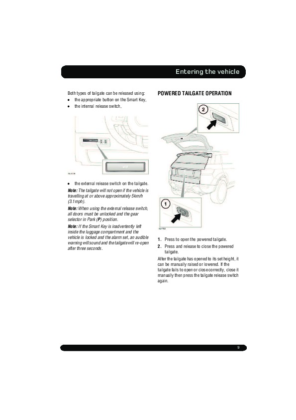 2011 Land Rover Evoque Handbook Manual