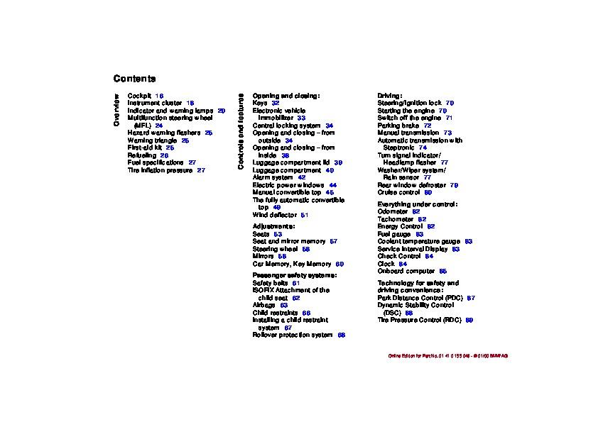 bmw pdf owners manual