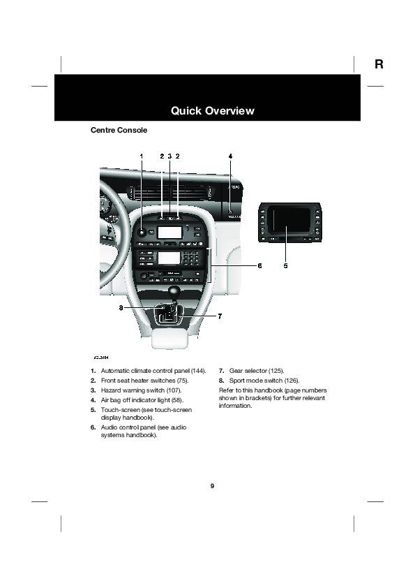 2004 Jaguar X-Type 2.5L 3.0L Owners Handbook