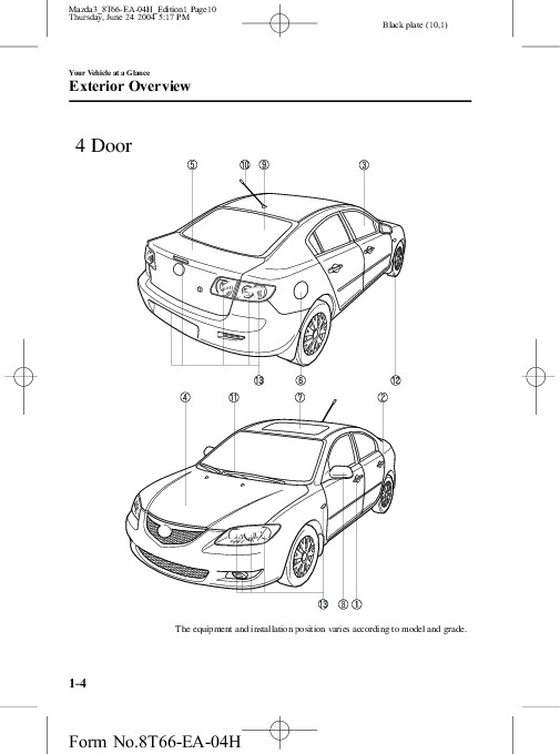 Service manual [Car Repair Manual Download 2005 Mazda