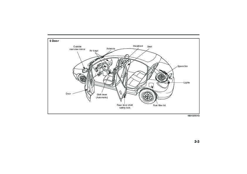 2005 Kia Rio Owners Manual