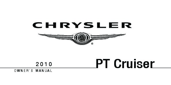 2010 Chrysler PT Cruiser Owners Manual
