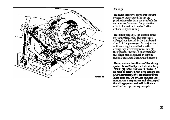 1994 Mercedes-Benz S500 S600 W140 Owners Owners Manual