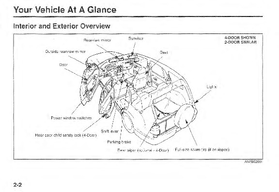 2000 Kia Sportage Owners Manual