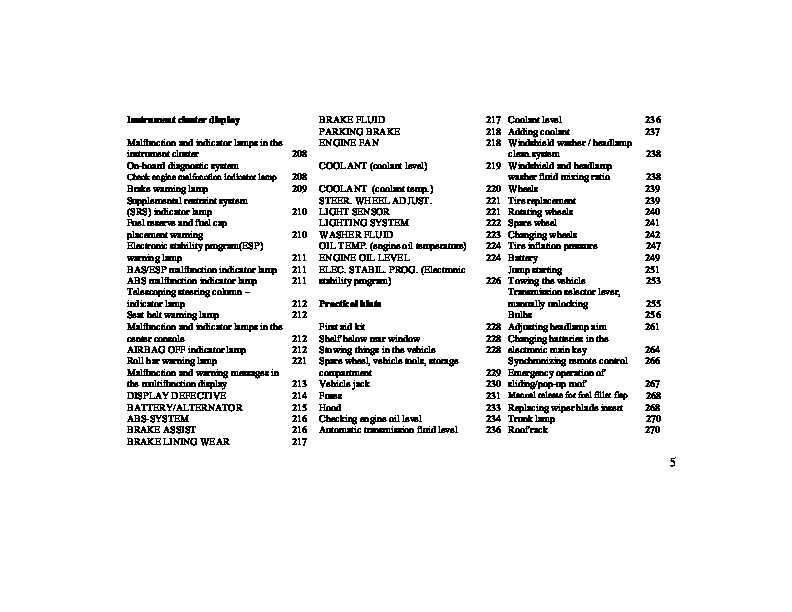 2000 Mercedes-Benz CLK430 Owners Manual