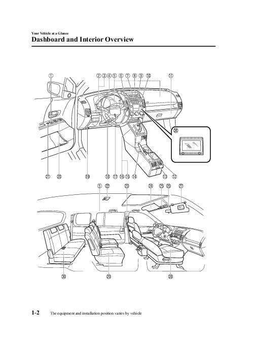 2009 Mazda 5 Owners Manual