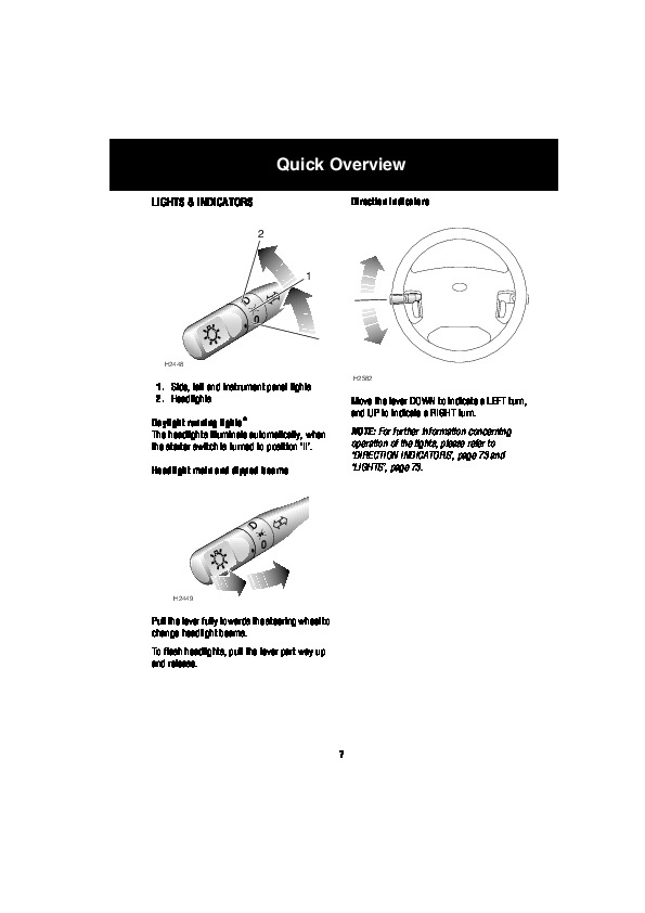 2004 Land Rover Discovery Handbook Manual