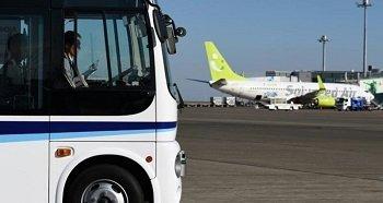 В аэропорту Токио начались тесты беспилотных автобусов