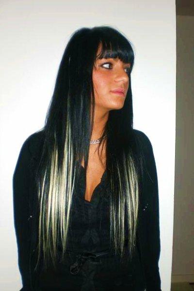 Image Result For Meches Blondes Et Noires