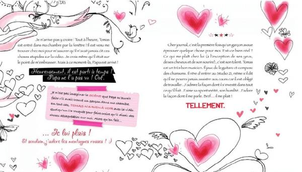 Crée Ton Journal Intime Violetta : crée, journal, intime, violetta, Journal, Intime, Violetta, Mundu.fr