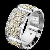 Men's High End Wedding Rings