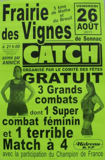Affiches De Galas Catchclubcognacais