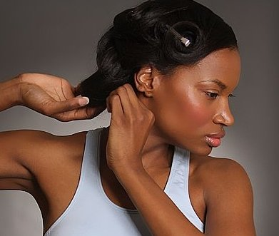 taking care of permed hair