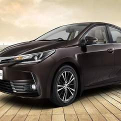 Brand New Toyota Altis Price Yaris Ativ Trd Corolla In India Images Mileage Features Side Front