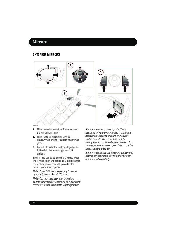 2011 Land Rover Evoque Handbook Manual