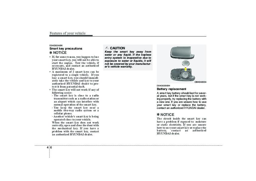 Service manual [2009 Hyundai Genesis Transflow Manual
