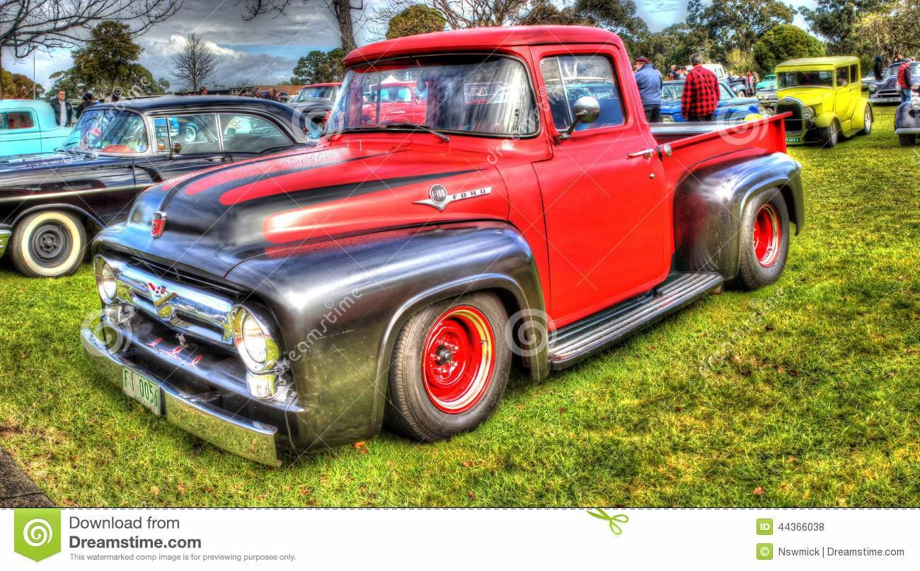 Latest Ford F100 Pick Up Truck In Hdr Editorial Stock Photo Free Download