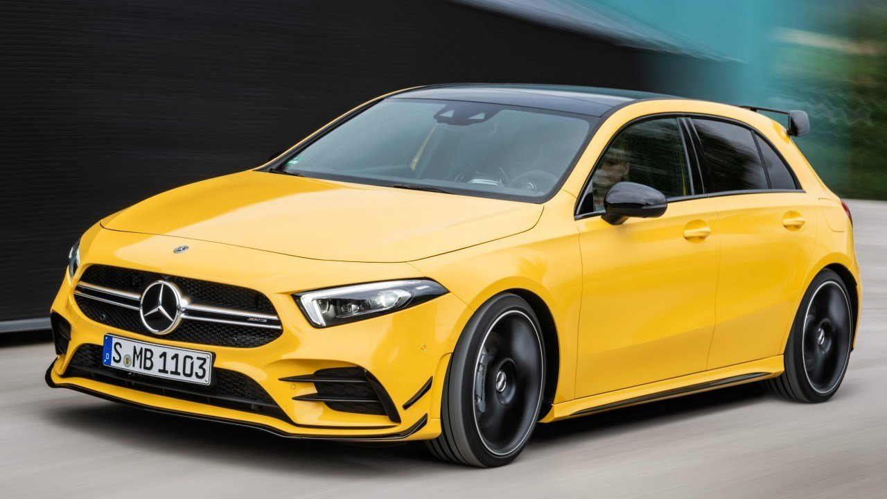 Latest Wallpaper Mercedes Benz A35 Amg 4Matic 2019 Cars 8K Free Download